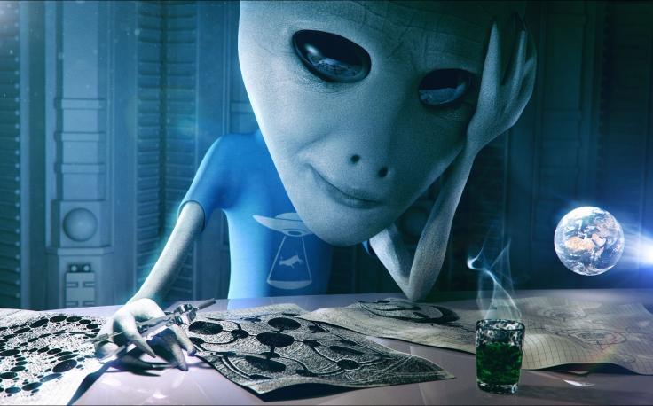Alien Prankster