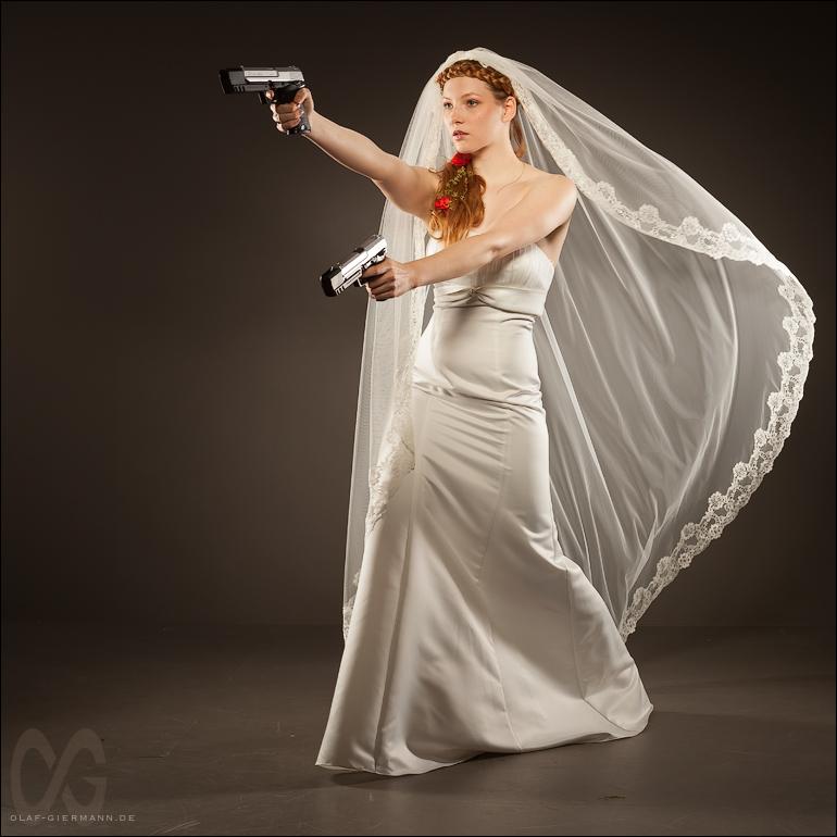 Bride's pride …
